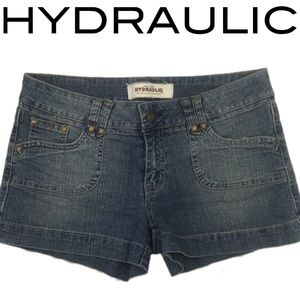 🚀 Hydraulic Jean Shorts Denim size 9/10